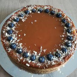 Cheesecake karamelový - 400 Kč
