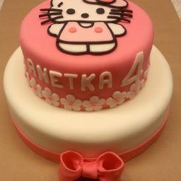 č.39 Dvoupatrový větší - Hello Kitty