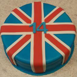 č.56 Anglická vlajka