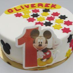 č.55 Kulatá menší Mickey Mouse