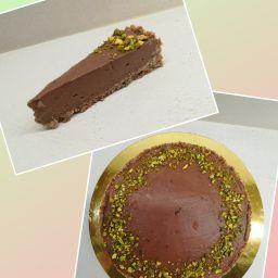 Cheesecake - lískovooříškový ( nutelový ) - 400 Kč